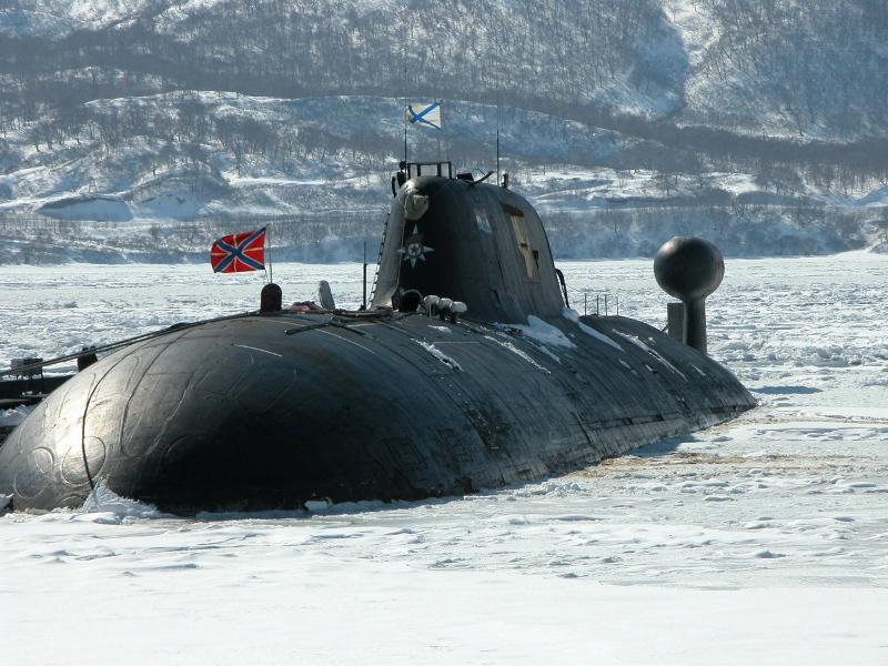 многоцелевая подводная лодка кузбасс