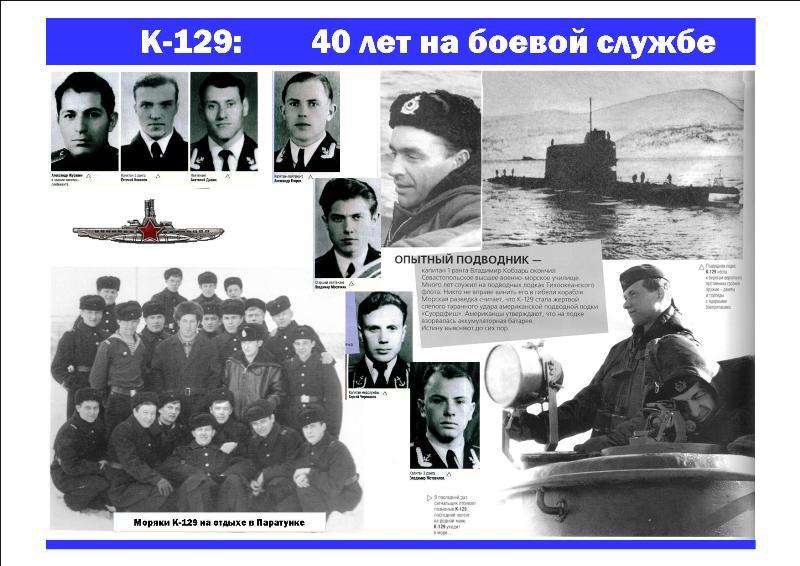 список погибших лодок